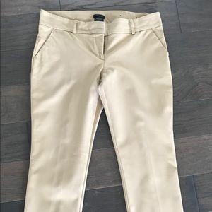 Ann Taylor Khaki Dress Pants-Modern